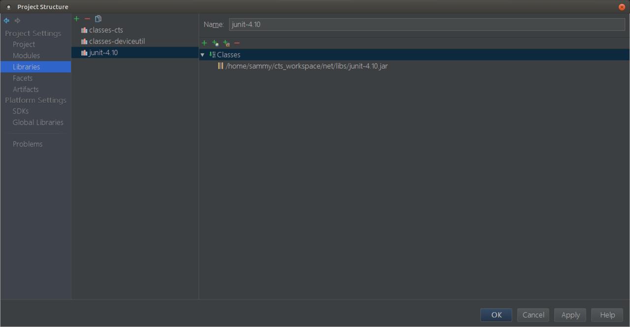 使用Android studio分析运行CTS用例