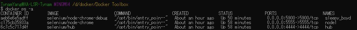 使用docker搭建selenium grid 分布式环境